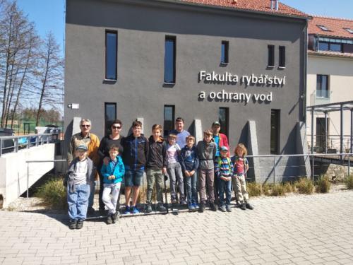 Exkurze - Fakulta rybářství a ochrany vod ve Vodňanech 2019